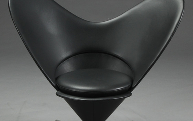 Verner Panton. Heart Cone Chair, lounge chair, Vitra
