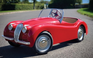 Jaguar XK 120 Children's Car