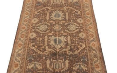 Near Antique Hand-Knotted North-West Persia Carpet