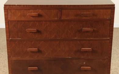 JEAN-MICHEL FRANK STYLE COMMODE PARQUETRY FINISH