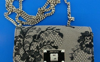 Jimmy Choo Mini Lace Bag with Dustbag