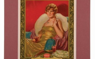 1928 COCA-COLA ADVERTISING CALENDAR.