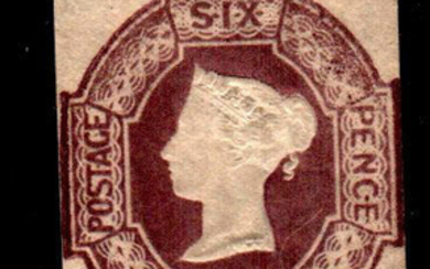 Great Britain 1854 - 6 d. purple - embossed - Stanley Gibbons N.60