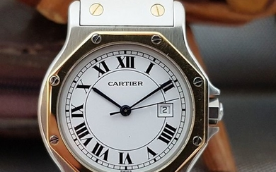 "Cartier - Santos Octagon Automatic - ""NO RESERVE PRICE"" - Unisex - 1990-1999"