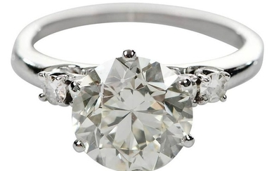 14kt. 2.90ct. Diamond Ring