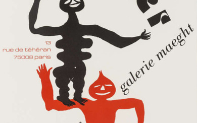 Alexander Calder (1898-1976) (after) Two exhibition posters, c. 1980
