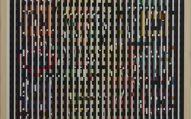 "Yaacov Agam ""Moon to Midnight"" Silkscreen"