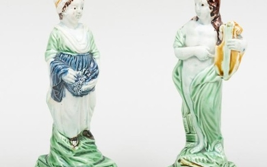 Pair of Staffordshire Pearlware Figures