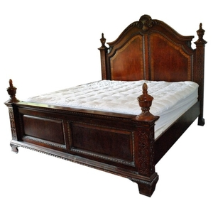 Lot Art Queen Anne Style Bed Frame
