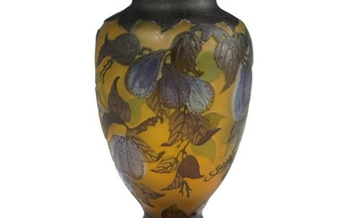 Galle Style Cameo Vase