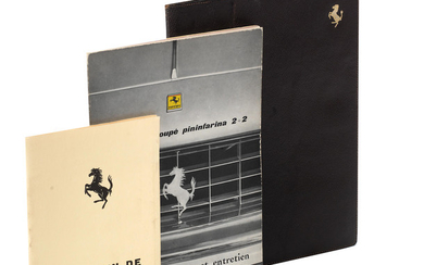 A Ferrari 250 GT/E coupe Pininfarina 2+2 owner's wallet and contents, mid 1960s,