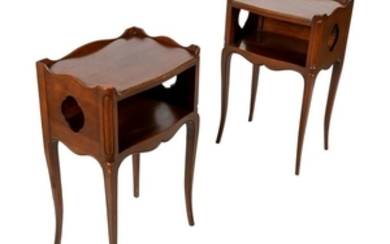 John Widdicomb - End Tables - Pair
