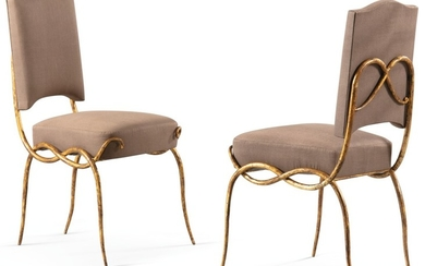 RENÉ DROUET | PAIR OF CHAIRS