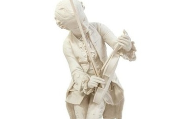 A Sevres Style Porcelain Figure of a Young Mozart