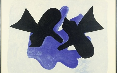 After Georges Braque (French, 1882-1963) Les Deux