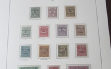 Wallis and Futuna 1920/2004 - Almost complete collection of stamps