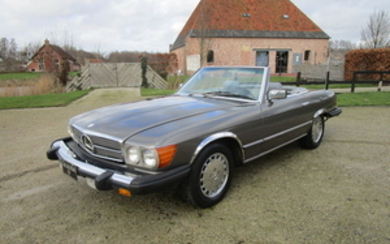 Mercedes-Benz - 380 SL (R107) - NO RESERVE - 1981
