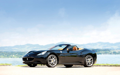2010 Ferrari California Hardtop Convertible