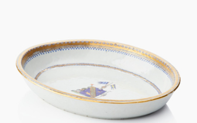 A Chinese dish with a Swedish crest