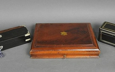 3 CONTINENTAL DRESSER BOXES