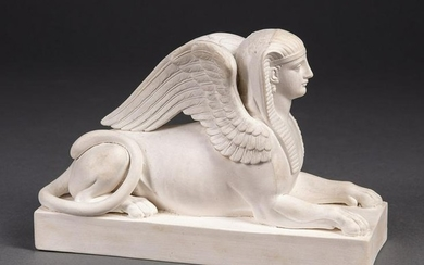 Wedgwood Parian Ware Sphinx