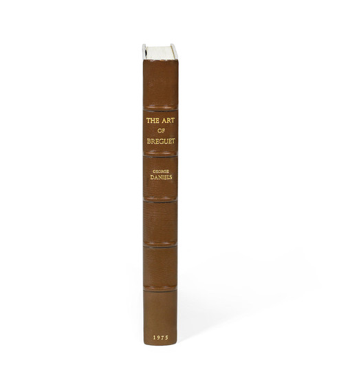 George Daniels, The Art of Breguet, No.18 out of an edition of 21 specially bound copies, signed by the author on the half-title