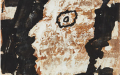 Jean Dubuffet, Personnage (mi corps)