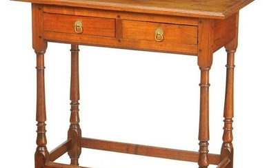 Rare Southern William and Mary Table