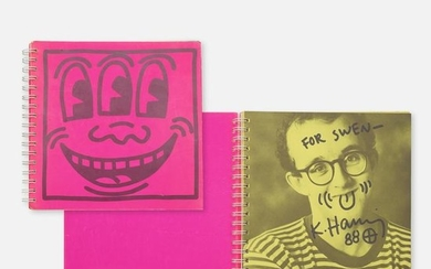 signed copy of Keith Haring