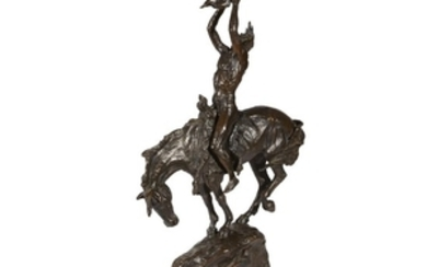 After Frederic Remington and after Buck McCain Two cast...