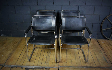 Mart Stam - Thonet - cantilever chairs (4) - S34