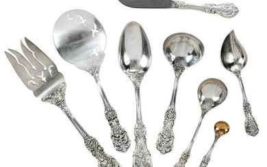 19 Francis I Sterling Serving Pieces