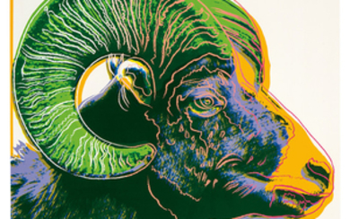 Andy Warhol - Andy Warhol: Bighorn Ram (from Endangered Species Portfolio)