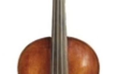 Saxon Violin - Labeled MARCUS STAINER…, length of one-piece back 359 mm.
