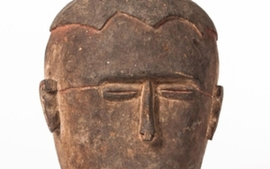 "Asmat Carved Wood Ritual ""Replacement"" Head"