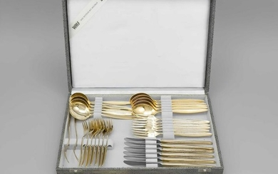Cutlery for six persons,