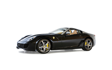 2011 Ferrari 599 SA Aperta with Factory Hardtop