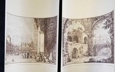 Set of 2 Drawings by Antonio Canaletto