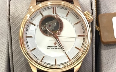 "Dreyfuss & Co. - "" NO RESERVE PRICE "" Automatic Swiss Made - DGS00163/02 - Nuovo - Garanzia - Men - 2011-present"