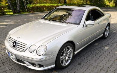 Mercedes-Benz - CL 55 AMG Kompressor 500 hp - NO RESERVE - 2003