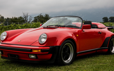 1989 Porsche 911 Carrera 3.2-Litre 'Turbo Look' Speedster