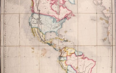 """Betts's Series of Interrogatory Maps. America."", Betts, John"