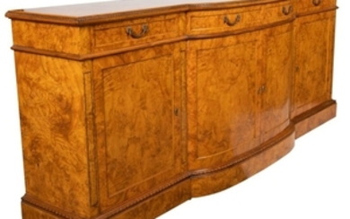 Burl Georgian Sideboard