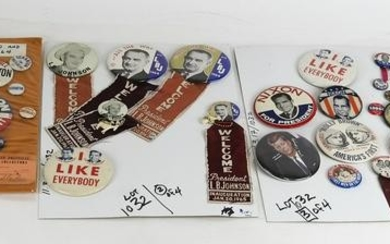 Four Sets of Buttons, 1964 & Others