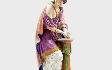 Large Staffordshire Pearlware Figure Emblematic of
