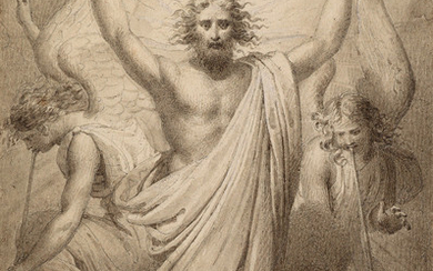 FRENCH SCHOOL, 19TH CENTURY Resurrected Christ in Glory.