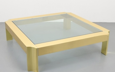 Large Karl Springer Coffee Table - Karl Springer; Karl Springer Ltd