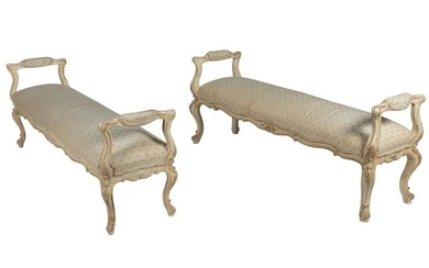 Oversized French Benches - Two