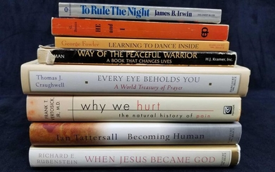 Set of 8 Religious and Healing Books