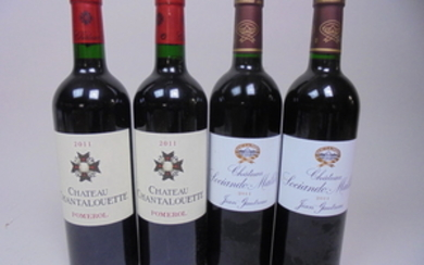 Mixed lot Bordeaux 2011